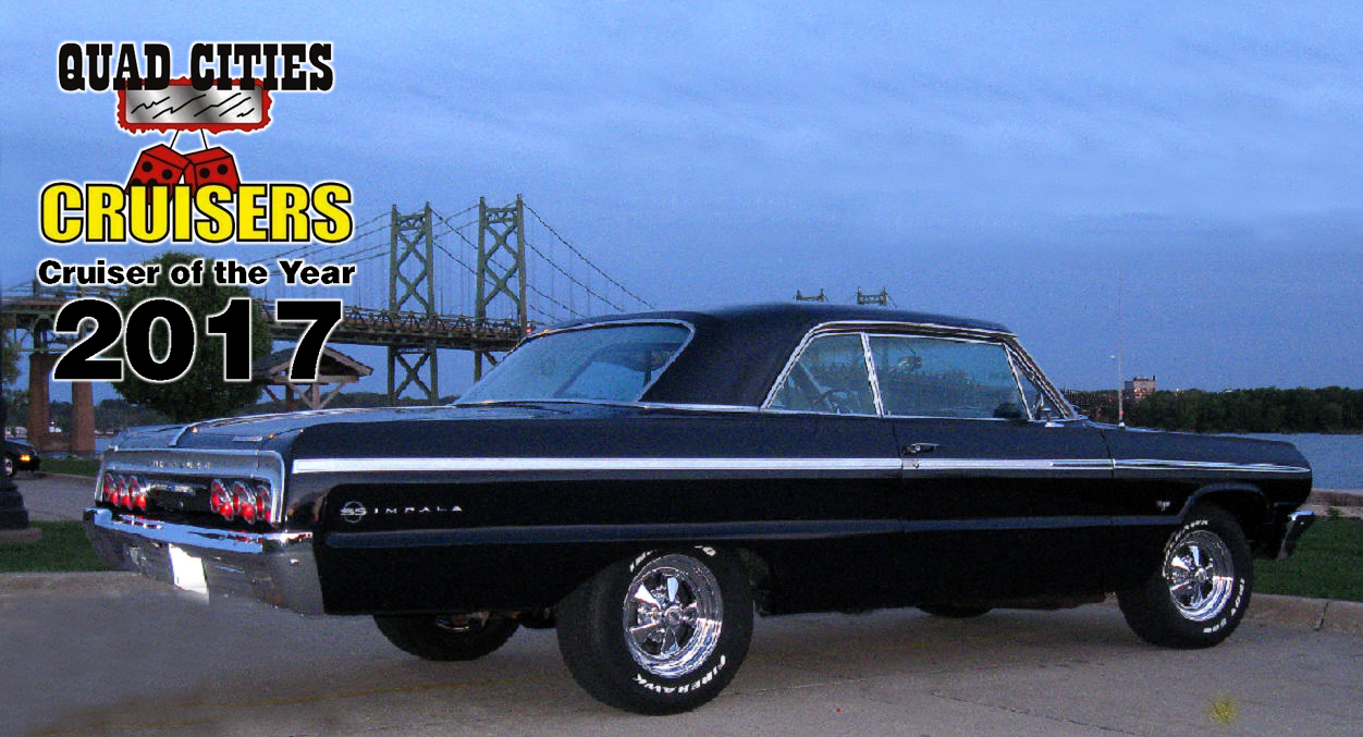 Cruiser of the Year Tom Salens. Tom & Maggie Saelens 1964 Chevy Impala Super Sport
