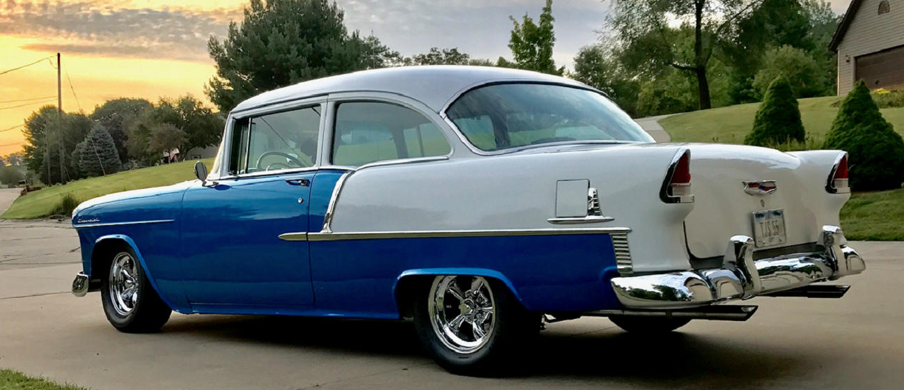 Tom Saelens - 1955 Chevy Delray