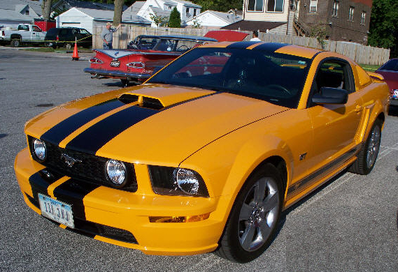 Joe Lewis' 2007 Ford Mustang GT Coupe