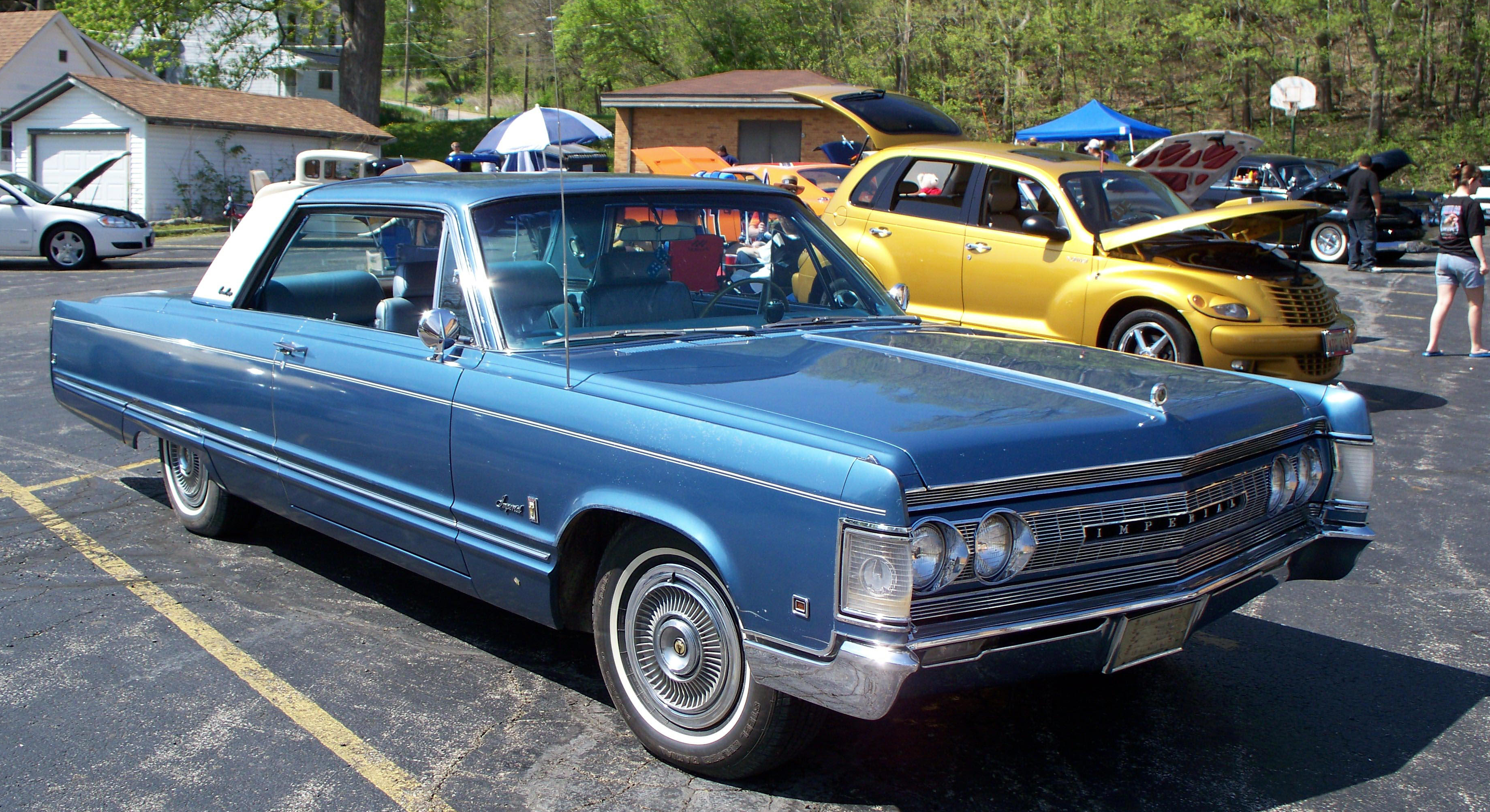 Arthur Schrader's 1967 Chrysler Imperial Crown Coupe