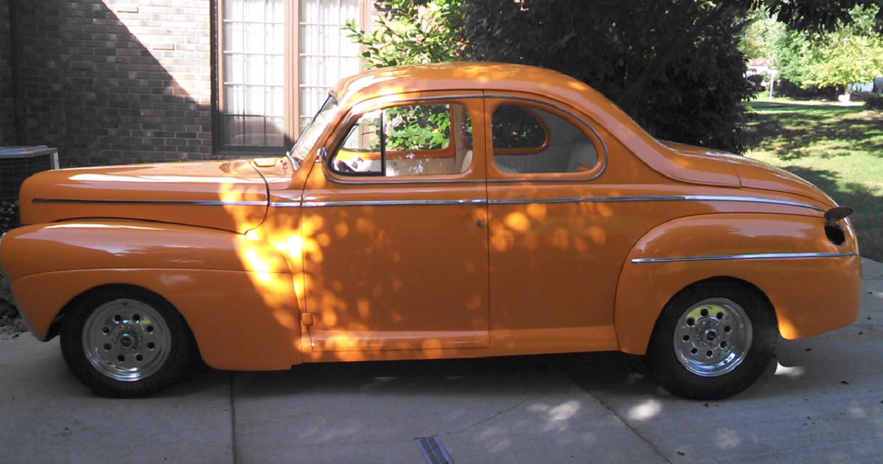 Dave McEchron's 1941 Ford Coupe